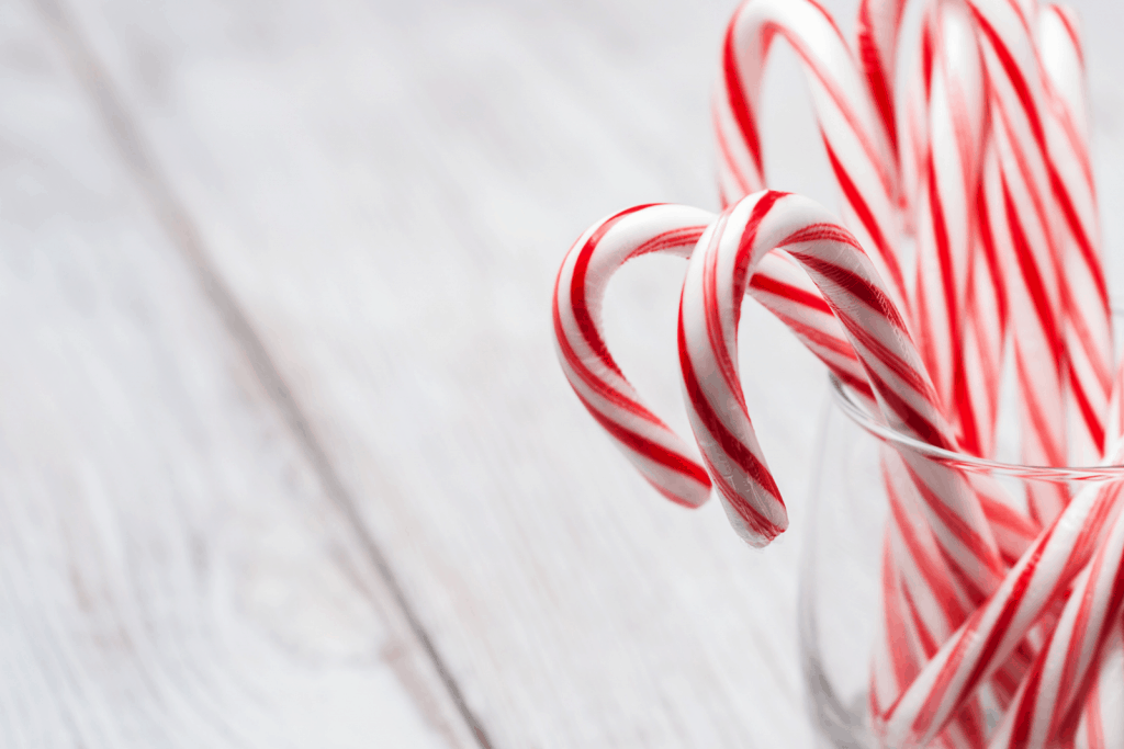 candy canes on jar: can horses eat candy canes?
