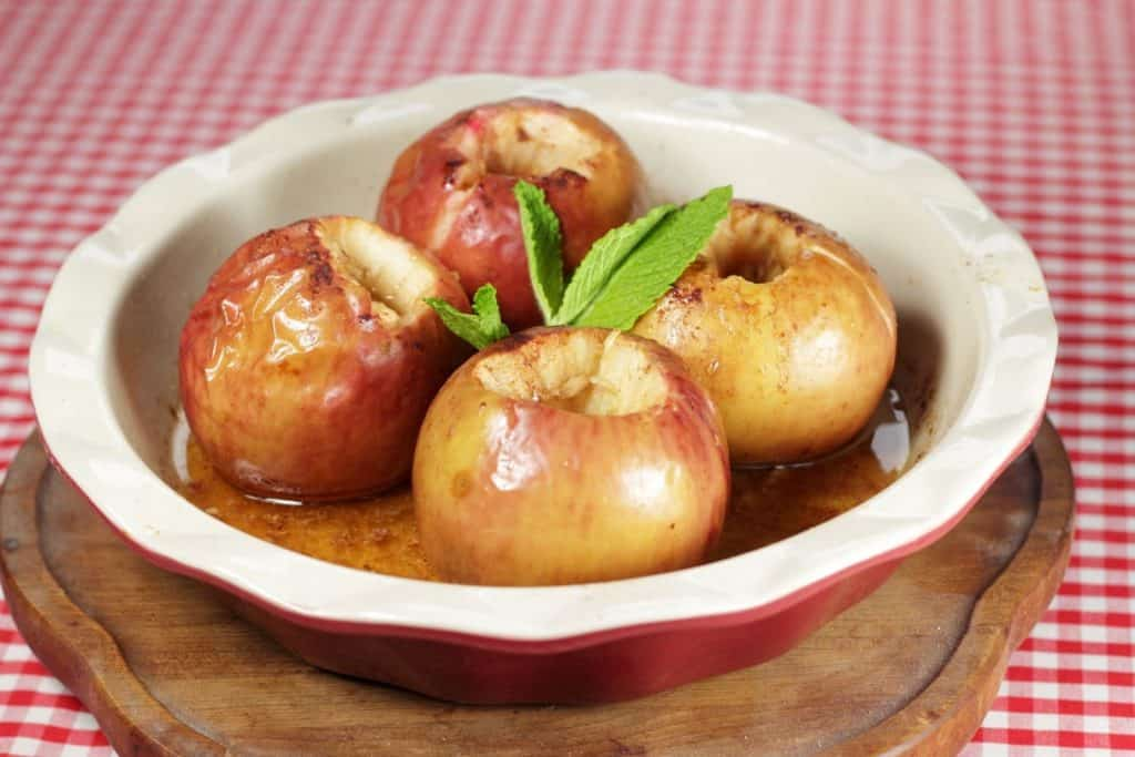 baked cooking apples